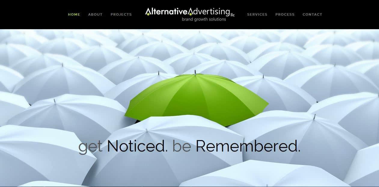 Alternative Advertising Website by New Sky Websites in Oconomowoc, WI