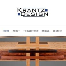 Branding Website for Krantz Design, WI