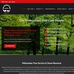 M&M Tree Care website