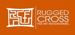 Rugged Cross Fine Art Woodworking logo by New Sky Websites