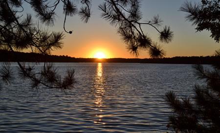 Lake Country Sunset - Lake Nebagamon, WI