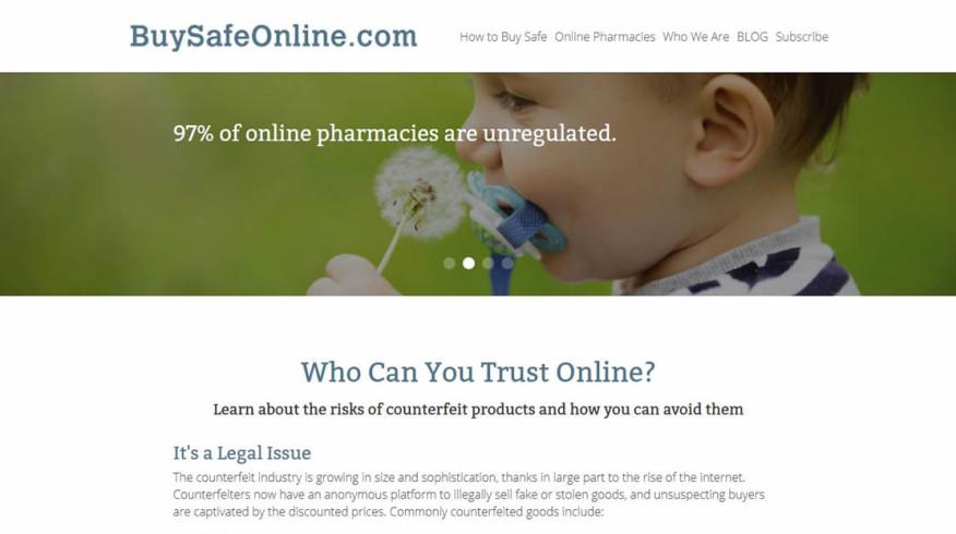 Buy Safe Online website by New Sky Websites