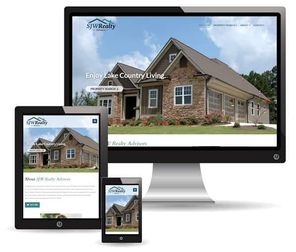 SJW Realty Advisors website by New Sky Websites