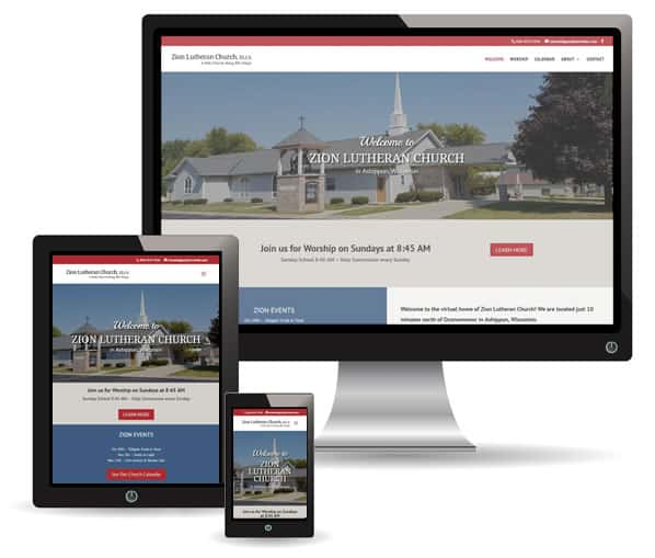 Zion Lutheran Church website