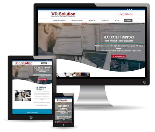ToSolution website by New Sky Websites